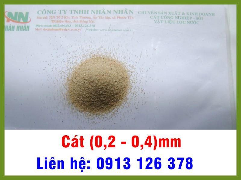 Cát (0,2 - 0,4) mm