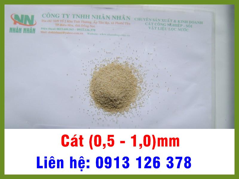 Cát (0,5 - 1,0) mm
