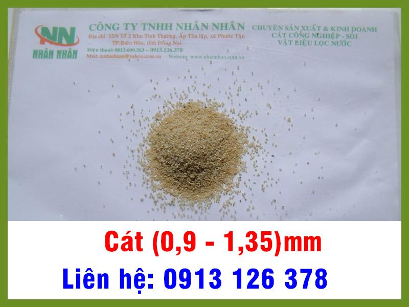 Cát (0,9 - 1,35) mm