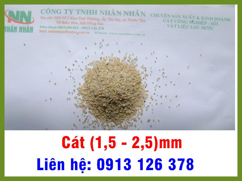 Cát (1,5 - 2,5) mm