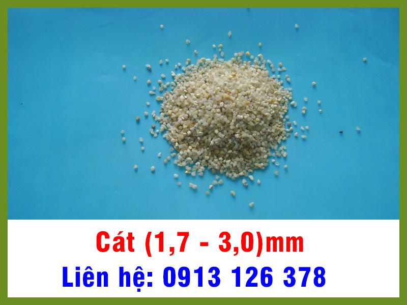 Cát (1,7 - 3,0) mm