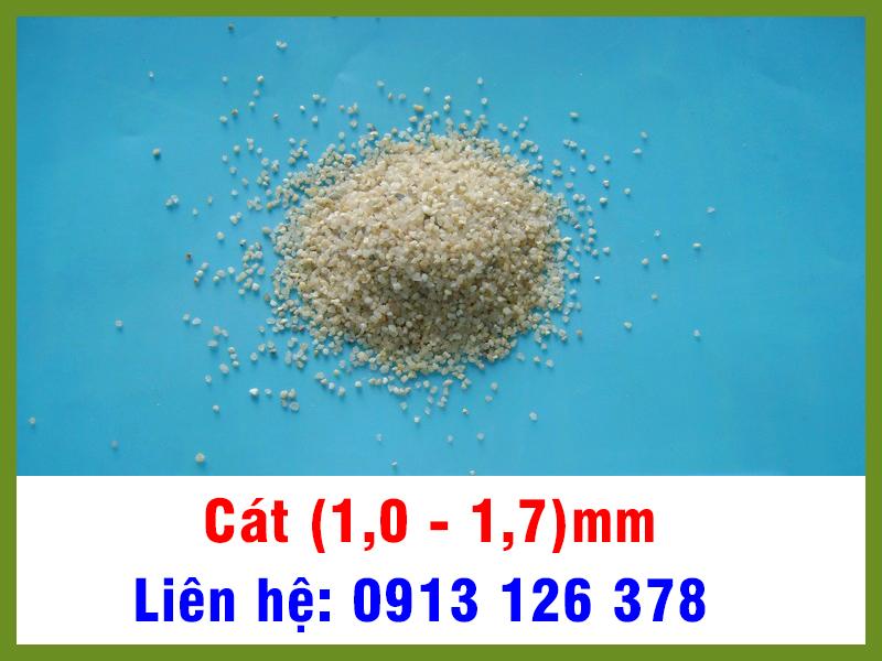 Cát (1,0 - 1,7) mm